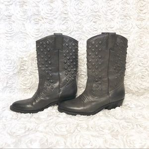 Lucky Brand Madonna Ash Gray Western Boot